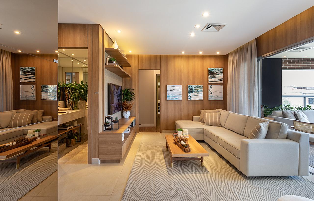 Apartamentos personalizados: apartamento de alto padrão todo iluminado